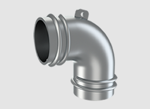 Exhaust Hose Elbow